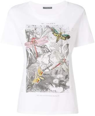 Alexander McQueen dragonfly T-shirt