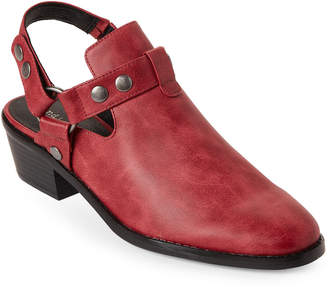 Indigo Rd Red Cesley Slingback Booties
