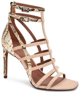 BCBGMAXAZRIA Ilsa Caged Dress Sandals Women Shoes