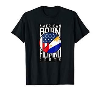American Born Filipino Roots T-shirt - Fil-Am Shirt