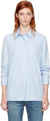 A.P.C. Blue Boy Shirt $220 thestylecure.com