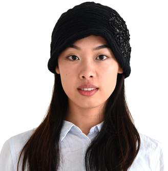 Charm Casualbox Womens Slouchy Beret Cap Beanie All Season Slouch Baggy Flower Hat
