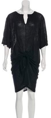 IRO Linen Knee-Length Dress