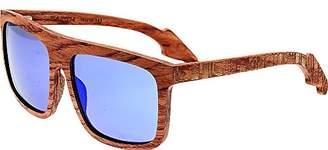 Earth Wood Aroa Polarized Square Sunglasses