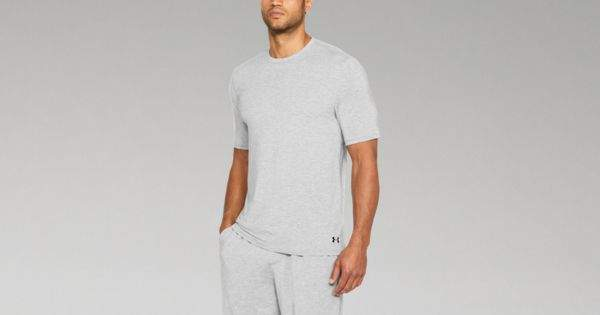 Under Armour Men's Athlete Recovery Ultra Comfort Sleepwear Short Sleeve