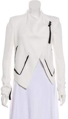 Helmut Lang Cropped Long Sleeve Blazer