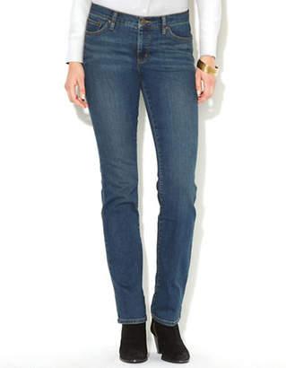 Lauren Ralph Lauren Super Stretch Slimming Classic Straight Jean