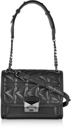 Karl Lagerfeld Paris K/kuilted Small Leather Shoulder Bag
