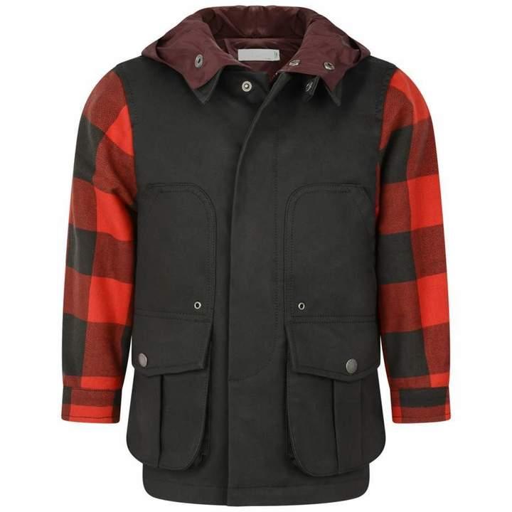 KidsBoys Black & Red Check Beckett Jacket