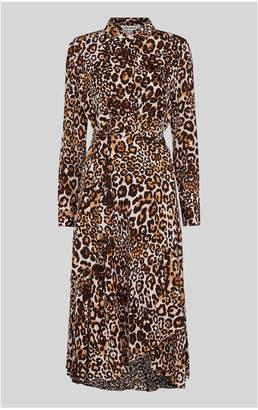 Whistles Animal Print Esme Dress
