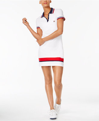 Fila Jennifer Cotton Polo Tennis Dress $78 thestylecure.com