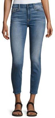 JEN7 Denim Ankle Skinny Jeans $159 thestylecure.com