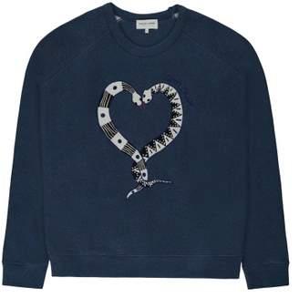 Sale - Snake Love Sweatshirt - Women's Collection - Maison Labiche