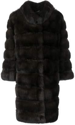Cara Mila Sabina Sable Fur Coat