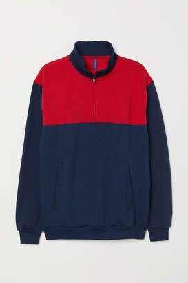 H&M Shirt with Collar - Blue