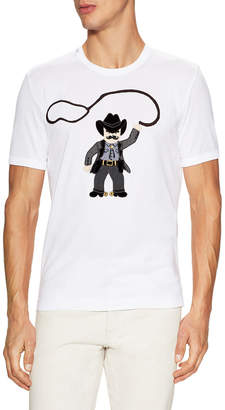 Dolce & Gabbana Cowboy Knit T-Shirt