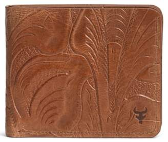 Trask 'Jackson' Slimfold Italian Steer Leather Wallet