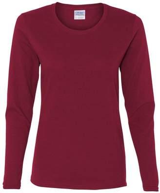 Gildan Heavy Cotton Ladies' 5.3 oz. Missy Fit Long-Sleeve T-Shirt - S