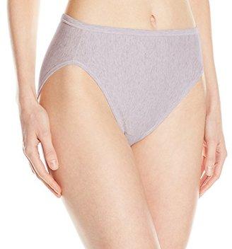 Vanity Fair Women's Illumination Cotton Hi Cut Panty 13315 $11.50 thestylecure.com