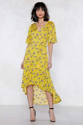 Nasty Gal Finish It Off Floral Dress