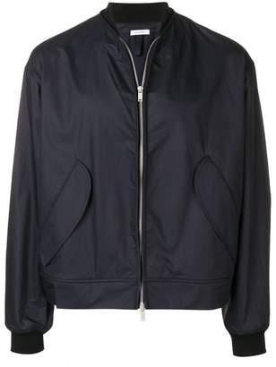 Jil Sander front zip bomber jacket