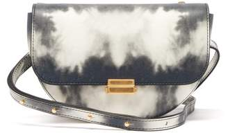 Wandler Anna Small Tie Dye Leather Belt Bag - Womens - Grey White