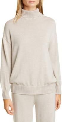 Max Mara Certo Virgin Wool Turtleneck Sweater
