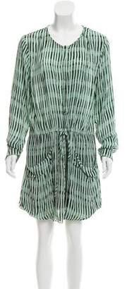 A.L.C. Silk Printed Dress