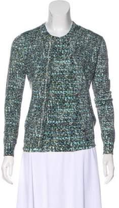 Dolce & Gabbana Wool Printed Cardigan Set