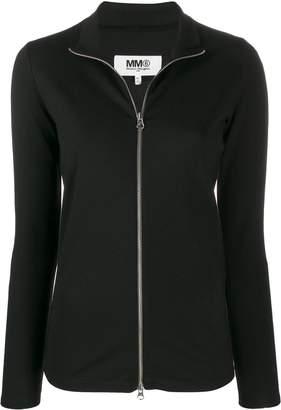 MM6 MAISON MARGIELA zip front jacket
