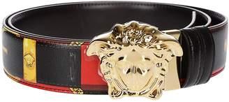 Versace Medusa Buckle Print Belt