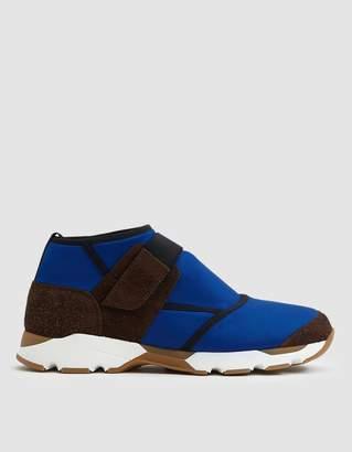Marni Velcro Neoprene Sneaker