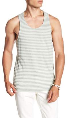 Public Opinion Stripe Print Tank Top