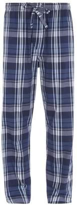 Derek Rose Ranga Check Pyjama Trousers