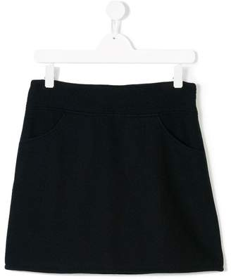Douuod Kids front pocket mini skirt