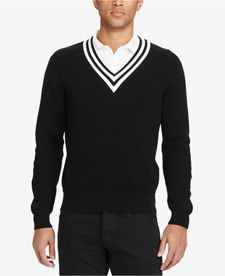 Polo Ralph Lauren Men's Rib-Knit Sweater $285 thestylecure.com