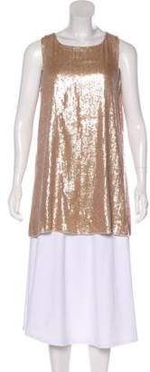Diane von Furstenberg Sleeveless Sequin Tunic