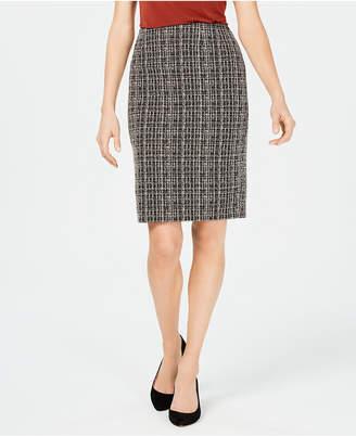 Kasper Petite Tweed Skirt