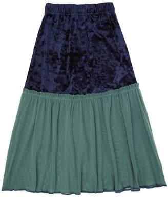 Emily Tulle & Velvet Maxi Skirt