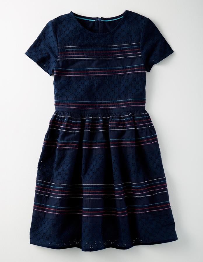 BodenBroderie Dress