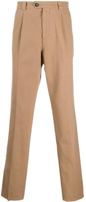 Brunello Cucinelli pleat-front tailored trousers