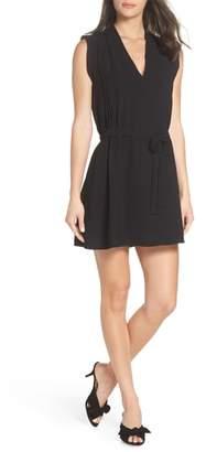 19 Cooper Pleat Detail Tie Waist Dress