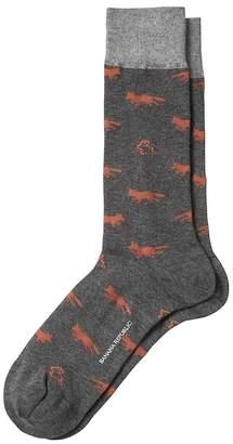 Banana Republic Fox Sock