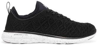 APL Athletic Propulsion Labs Techloom Phantom 3d Mesh Sneakers - Black