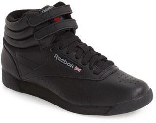 Women's Reebok 'Freestyle Hi' Sneaker $69.95 thestylecure.com