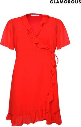 Next Womens Glamorous Curve Wrap Dress