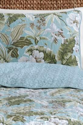 Tommy Bahama Key Largo Place Quilt & Sham Set - Blue