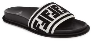 Fendi Fun Logo Slide Sandal