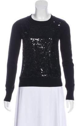 Diane von Furstenberg Wool Sequined Sweater w/ Tags