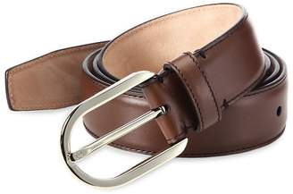 Bally Men's Calf Leather & Metal Belt